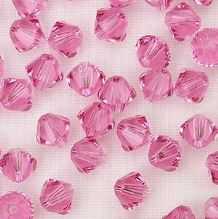 4mm Swarovski 5328 Xilion Rose - 10